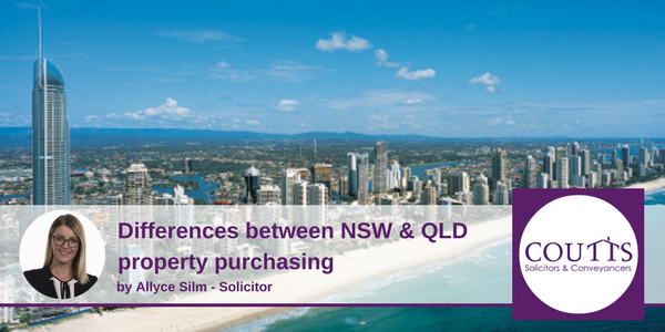 Differences between NSW & QLD Property