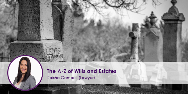 A Z of Willis and Estates