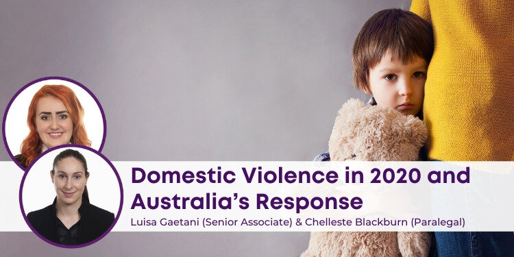 Domestic Violence and Australia's Response