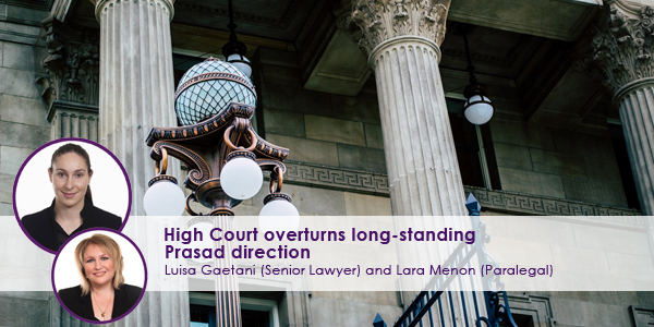 High Court Overturns Long Standing Prasad Direction