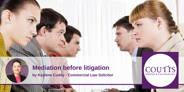 Mediation Before Litigation