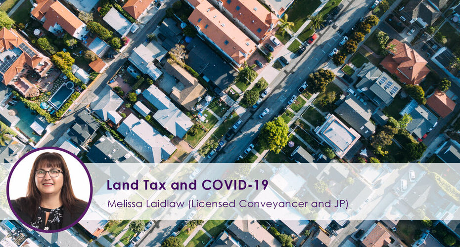 Land Tax and COVID-19
