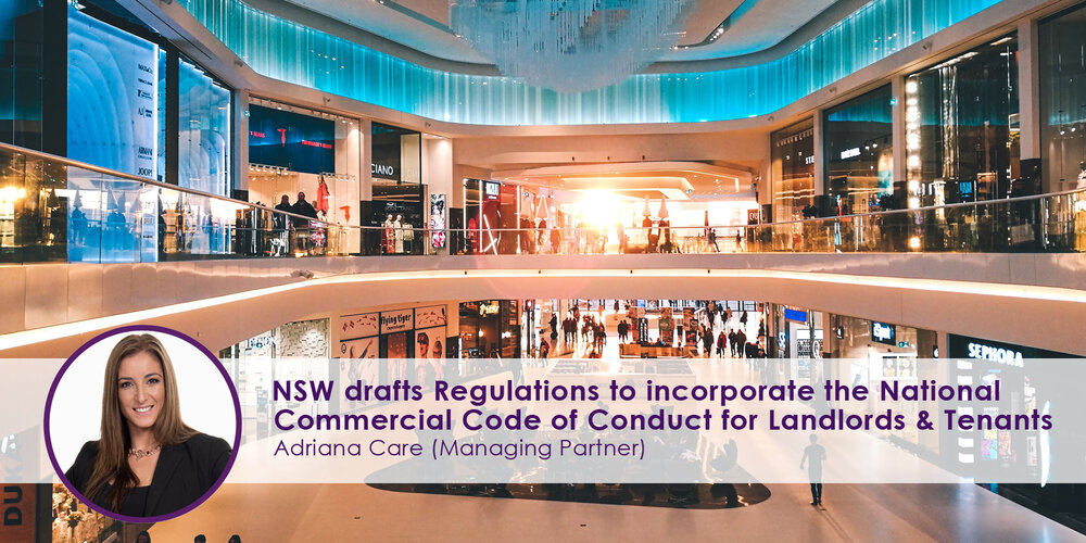 National Commercial Code of Conduct for Landlords & Tenants