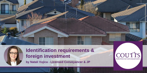 Identification Requirements & Foreign Investment
