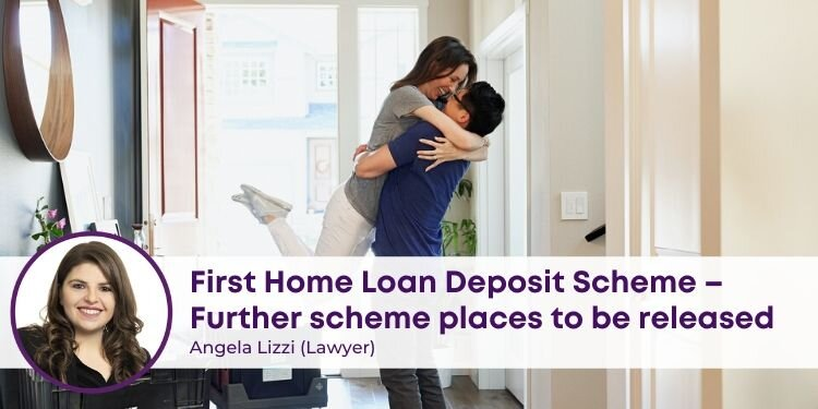 First Home Loan Deposit Scheme Places to be released