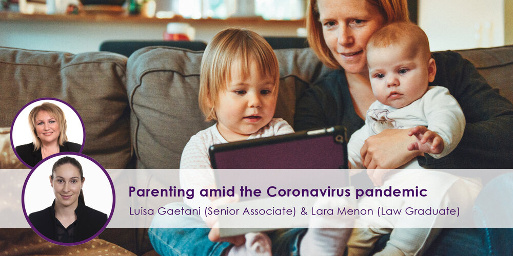 Parenting amid the Coronavirus Pandemic