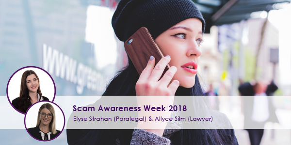 Scam awareness week 2018