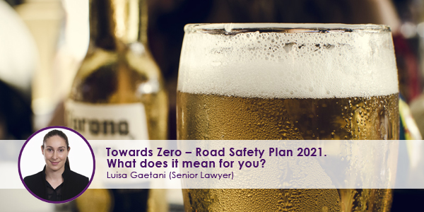 Towards Zero Road Safety Plan 2021
