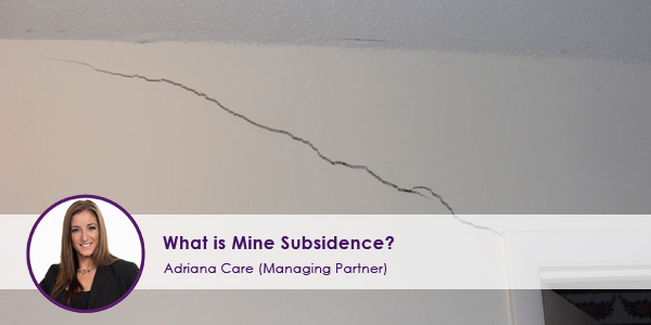 What is Mine Subsidence?