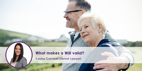 What makes a Will Valid?
