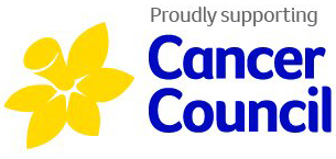 Proudly Supporting Cancer Council