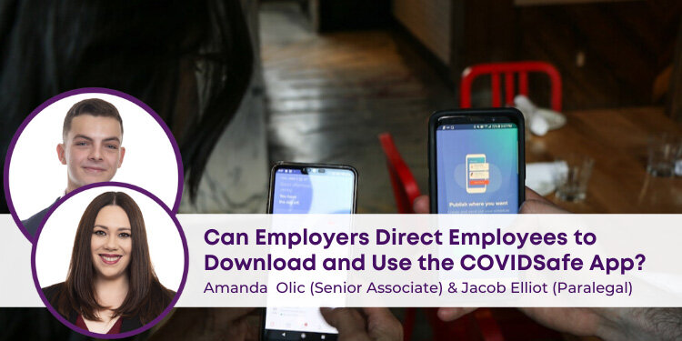 Employees to Download & Use COVID sate App