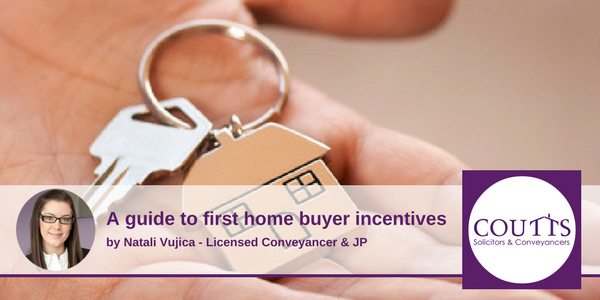 Guide to First Home Buyer Incentives
