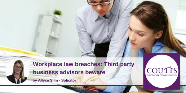 Workplace law breaches