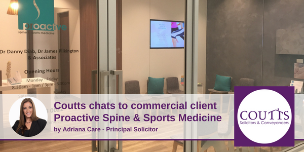 Coutts Chats to Commercial Client Proactive Spine