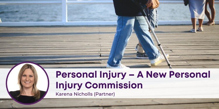 New Personal Injury Commission