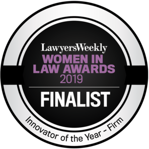 Lawyers Weekly Women in Law Awards 2019