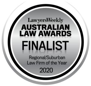 Lawyers Weekly Australian Law Awards Finalist