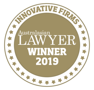Innovative Firms Australasian Lawyers Winners 2019