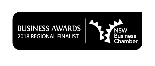 NSW Business Chamber Awards 2018 Regional Finalist