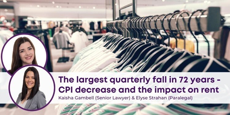 CPI Decrease and the Impact on Rent