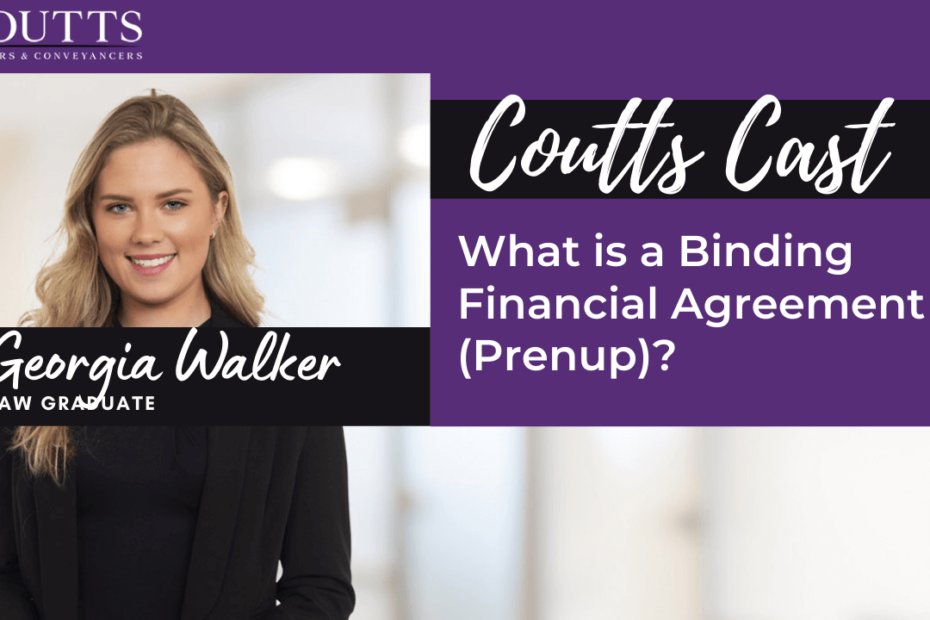 what is a binding financial agreement