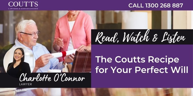 The Coutts Recipe for Your Perfect Will