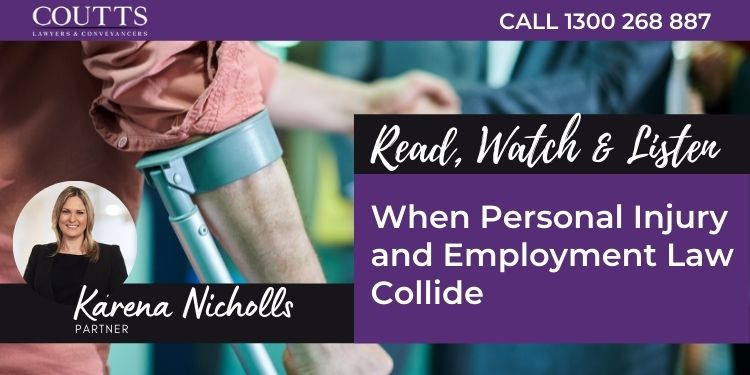 When Personal Injury and Employment Law Collide