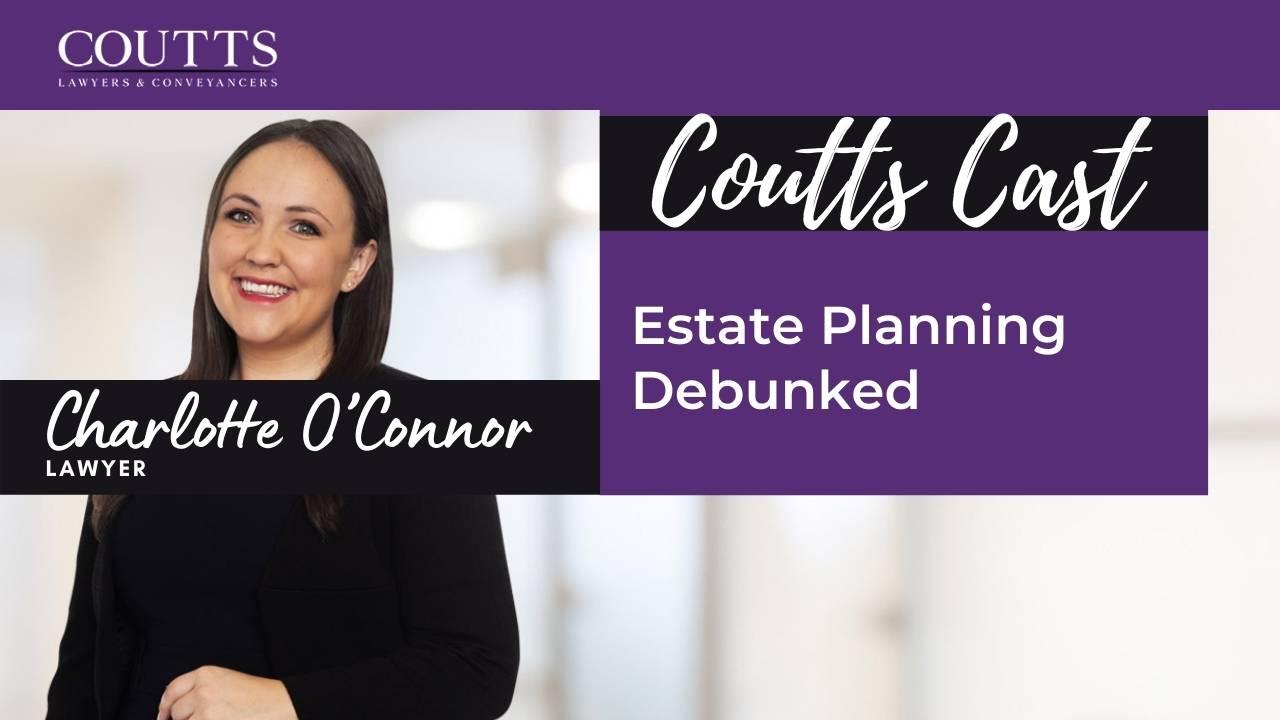estate planning debunked