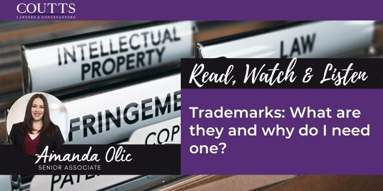 Trademarks: What are they and why do I need one?