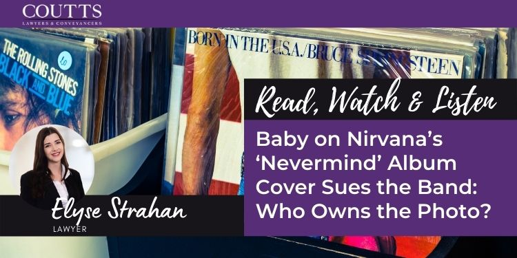 Baby on Nirvana's 'Nevermind' Album Cover Sues the Band: Who Owns the Photo?